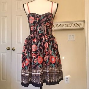 BAND OF GYPSIES BUSTIER DRESS NEW